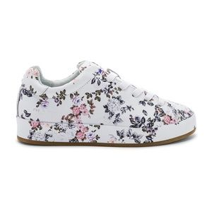 Rag & Bone floral print leather sneakers